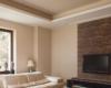 3D Wandpaneele Holz WIDE im Wohnzimmer
