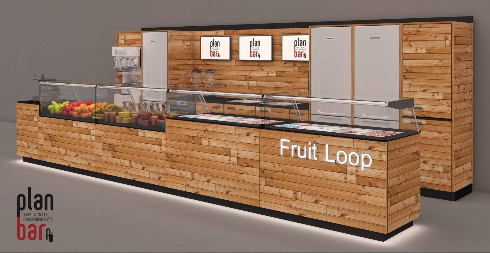 Pop-up-Store Saftbar