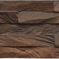 Wandverkleidung Holz 3d Optik: Diamond 100% Teak Root Ancient Brown