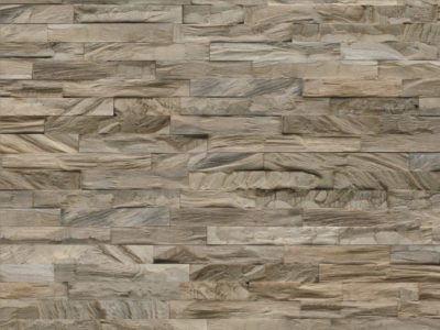 Wandgestaltung Holz Diamond 100% Teak Root Ancient Grey