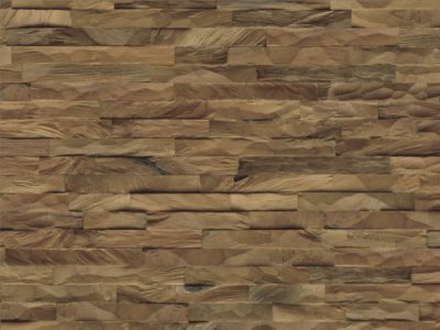 Echtholzverblender Diamond 100% Teak Root Nature