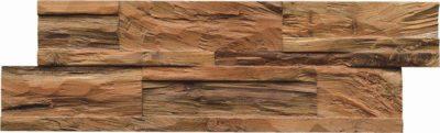 Wand in Holzoptik
