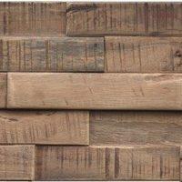 Wandverkleidung Holz Slimwood Hevea Stone Washed