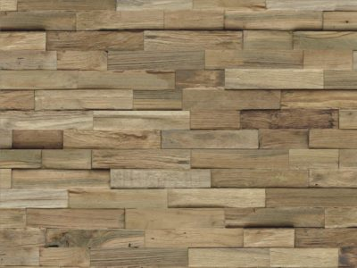 Wandverblender Holz Teak natur