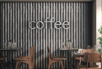 Factory – dreidimensionale Wandverkleidung im Industriedesign