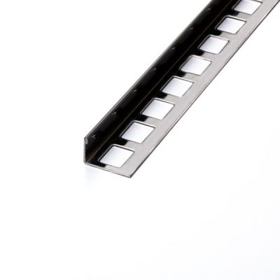 Winkelprofil Edelstahl Natur 4,5cm