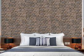 Mauerverbender Ziegel rot Schlafzimmer