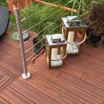 Bambus: elegante Terrassendiele aus Bambusholz