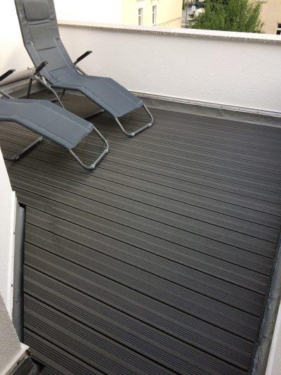 WPC-hohl anthrazit: vielseitige Terrassendiele für den langjährigen Einsatz