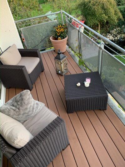 WPC-massiv braun: robuste Terrassendiele aus innovativem Werkstoff