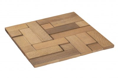 Wood Collection Cube Stab – Kantiges Holzdesign für die Wand
