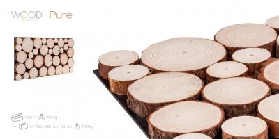 Wood Collection Pure – der Look echter Baumscheiben